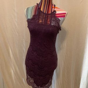 Buttons..Halter..Lace